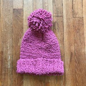 SALE!! 5/$25 Soft & Fuzzy Pink Pom Hat